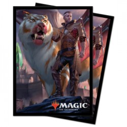 100 Protège-Cartes Magic The Gathering - Ikoria Coppercoat Outcast