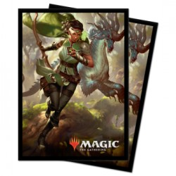 100 Protège-Cartes Magic The Gathering - Ikoria Vivien, Monster's Advocate