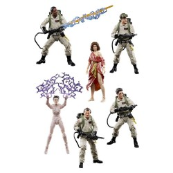 Pack de 8 Figurines Ghostbusters Plasma Series