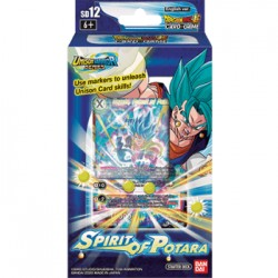 1 Starter Deck 12-Spirit of Potara - DRAGON BALL SUPER Card Game
