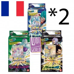 LOT des 3 Starters Deck 12/13/14 - BT10 - DRAGON BALL SUPER Card Game