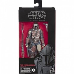 tar Wars The Black Series The Mandalorian Toy 6-inch Scale Collectible Action Figure