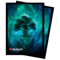 100 Protège-Cartes Magic The Gathering - Celestial Forest