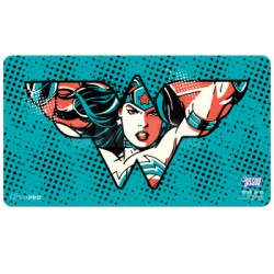 Tapis de jeu + TUBE Justice League - Wonder Woman