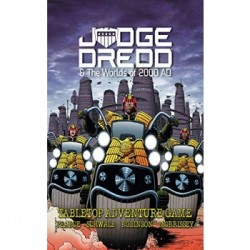 Judge Dredd & The Worlds of 2000 AD RPG - Core Rulebook - EN