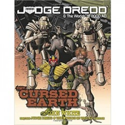 Judge Dredd RPG - Cursed Earth - EN