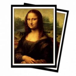 65 Protèges cartes Ultra Pro Standard Fine Art - Mona Lisa