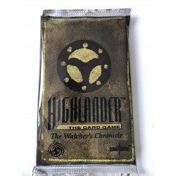 7 Boosters The Watcher Chronicles Limited Edition - Highlander TCG - Swordmaster