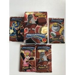 Lot Starter Torchman + 4 boosters Power Up - Megaman TCG