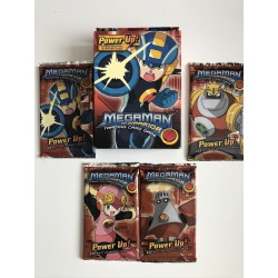 Lot Starter Megaman + 4 boosters Power Up - Megaman TCG