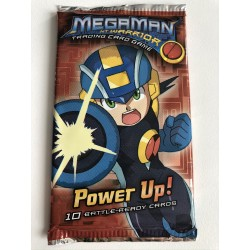 Booster Power Up - Megaman TCG