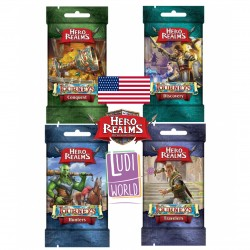 VO - Collection 4 Boosters Journeys Packs Hero Realms -