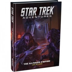 VO Star Trek: Adventures - The Klingon Empire Core Rulebook Standard Edition