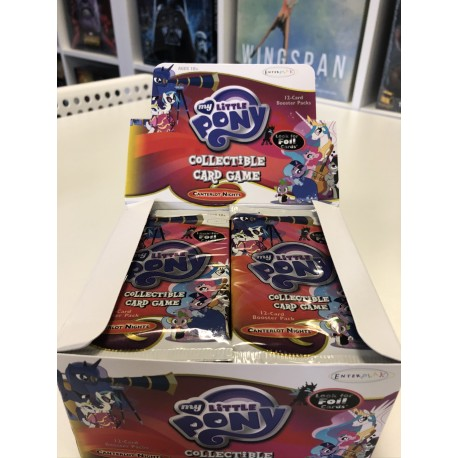 Booster Canterlot Night - My little Pony CCG