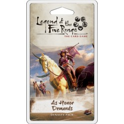 As Honor Demands - Dominion Cycle 4.5 - Legend of the 5 Rings LCG