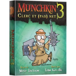 MUNCHKIN 3: Extention CLERC ET (PAS) NET