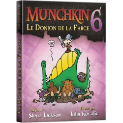 MUNCHKIN 6: Extention LE DONJON DE LA FARCE