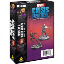 Hawkeye and Black Widow - Marvel Crisis Protocol