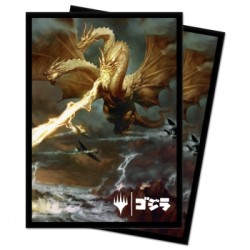 100 Protège-Cartes Magic The Gathering - Ghidorah, King of the Cosmos