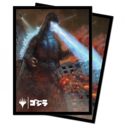 100 Protège-Cartes Magic The Gathering - Godzilla, King of the Monsters