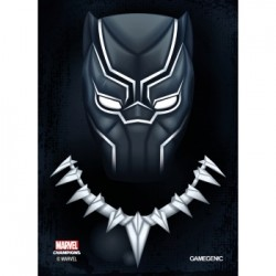Sachet de 50 protèges carte taille standard Marvel Champions Art Sleeves - Black Panther - Gamegenic