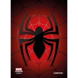 Sacher de 50 protèges carte taille standard Marvel Champions Art Sleeves - Spider Man - Gamegenic