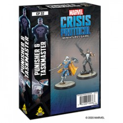 Punisher and Taskmaster - Marvel Crisis Protocol