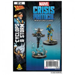 Storm and Cyclops - Marvel Crisis Protocol