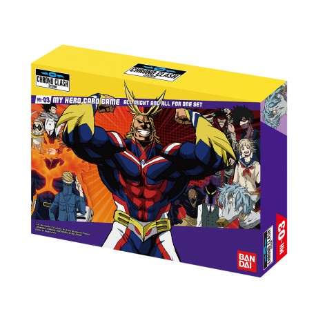 Coffret All Might & All For One My Hero Academia - Chrono Clash System