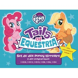 TAILS OF EQUESTRIA: SET DE DÉS PONEY TERRESTRE