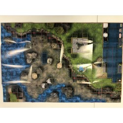 Map HeroClix - Utopia/Danger Room West