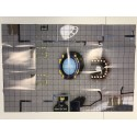Map HeroClix - Justice League Watchtower/Injustice Gang Hideout