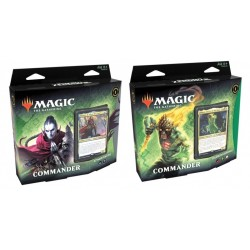 VF - LOT des 2 Decks COMMANDER Renaissance de Zendikar - Magic The Gathering