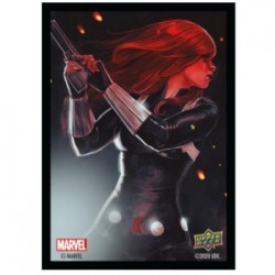 65 Protèges Cartes Marvel - Black Widow