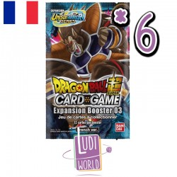 VF - 6 Boosters Expansion Booster 3 - DRAGON BALL SUPER Card Game