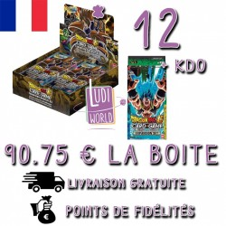 13/11 PRECO - VF - RETRAIT BOUTIQUE - CARTON de 12 BOITES de 24 Boosters Expansion Booster 1 - DRAGON BALL SUPER Card Game