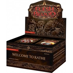 1 BOITE de 24 Boosters Welcome to Rathe UNLIM Flesh & Blood TCG