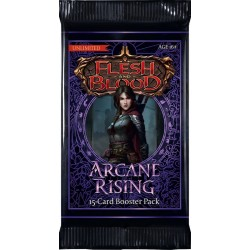 LOT de 6 Boosters Arcane Rising UNLIM Flesh & Blood TCG