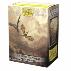 100 Protèges cartes - Among the Sierra Nevada - Brushed Art Sleeves Dragon Shield
