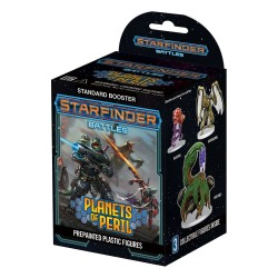 Starfinder Battles - Planets of Peril - Brick de 8 boosters
