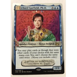 Carte promo Richard Garfield - Magic the Gathering
