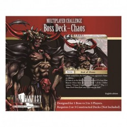 Deck de Boss - Chaos - Challenge Multiplayer - Final Fantasy
