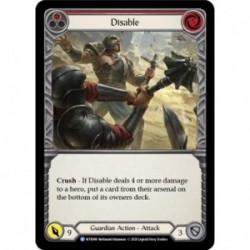 Rainbow Foil Disable (Red)