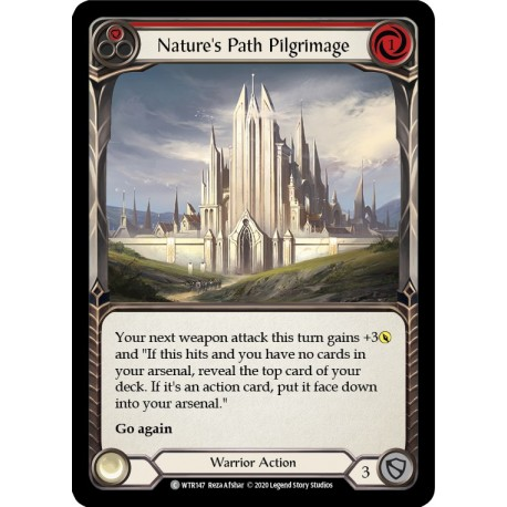 Nature's Path Pilgrimage (Red)