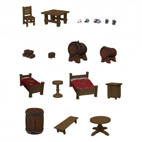 D&D Icons of the Realms - The Yawning Portal Inn: Beds & Bottles