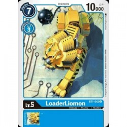 BT1-042 LoaderLiomon Digimon Card Game