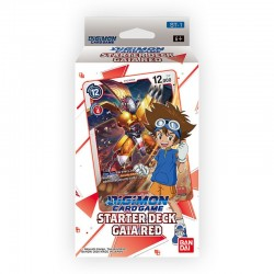 Starter Deck 1 Gaia Red - DIGIMON CARD GAME