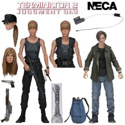 Sarah Connor and John Connor - 2 Pack Action Figures - Terminator 2