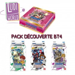 PRECO MAI 2021 - Pack Decouverte BT4 Great Legend - DIGIMON CARD GAME