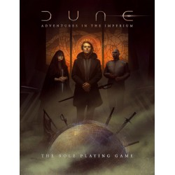 Dune: Adventures in the Imperium - Core Rulebook - Standard Edition